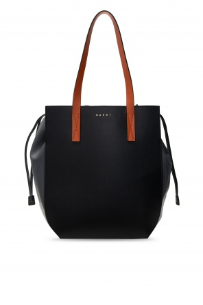 Leather bucket bag od Marni