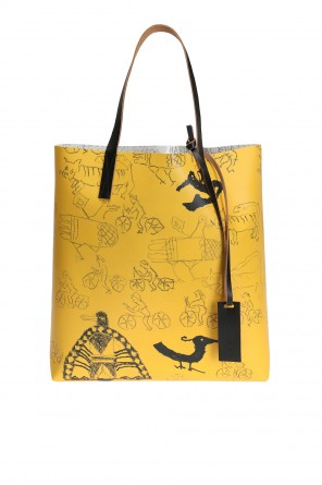 Printed shopper bag od Marni