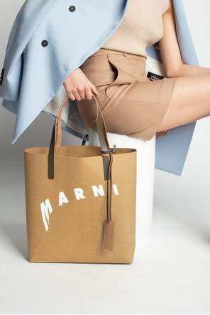 Shopper bag with logo od Marni