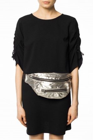 Belt bag with metallic sheen od Isabel Marant