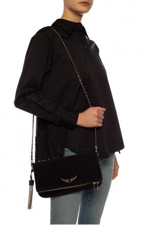 Shoulder bag with logo od Zadig & Voltaire