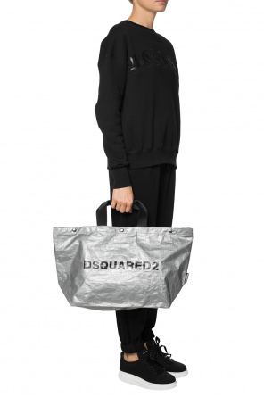 'shopper' bag with a print od Dsquared2