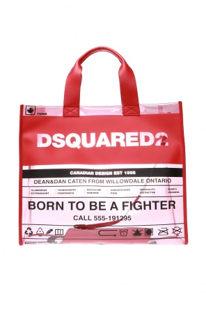 Transparent shoulder bag od Dsquared2