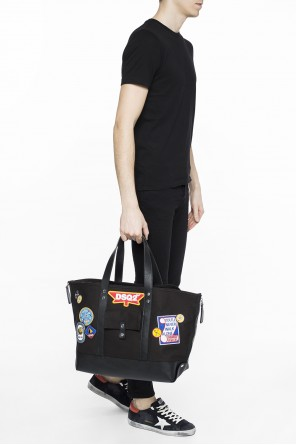 Patched shopper bag od Dsquared2