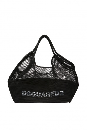 'shopper' bag with a net od Dsquared2