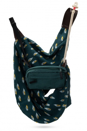 Shoulder bag w/ detachable pouch od Undercover