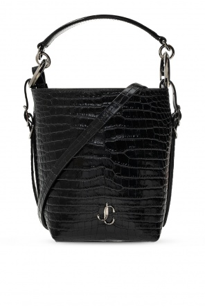'varenne bucket' leather bag od Jimmy Choo