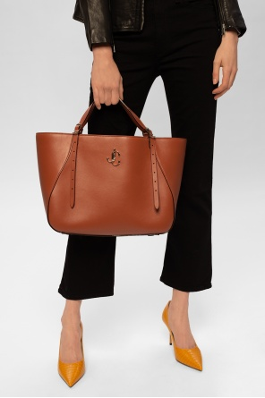 'varenne tote' leather bag od Jimmy Choo