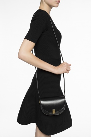 Leather shoulder bag od Victoria Beckham