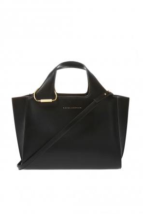 Logo-embossed shoulder bag od Victoria Beckham