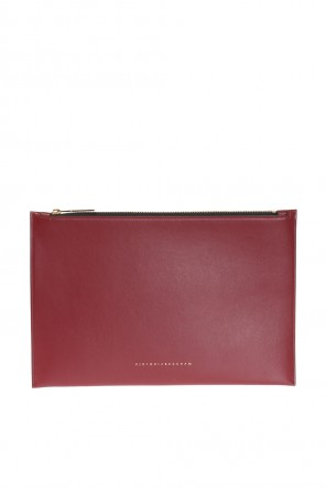 Clutch with logo od Victoria Beckham