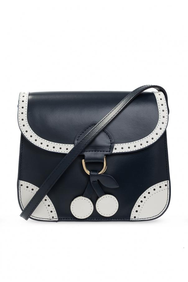 Bonpoint  Leather shoulder bag