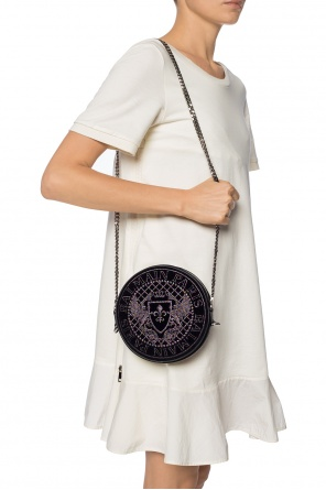 Embroidered shoulder bag od Balmain