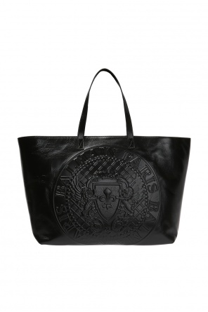 Shopper bag with logo od Balmain