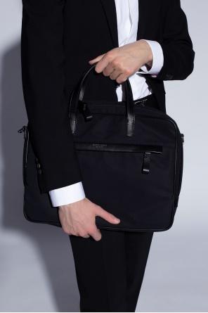 Briefcase with logo od Giorgio Armani