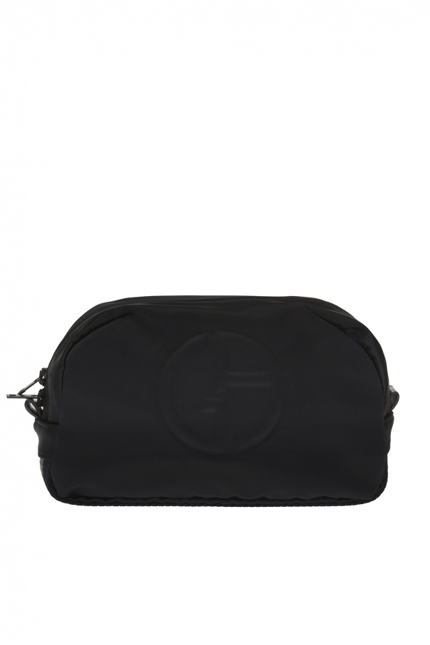 Giorgio Armani Branded wash bag