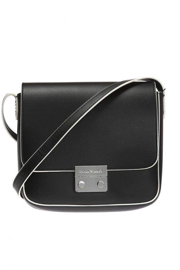e41ca9ebb3a8 Embossed logo shoulder bag Emporio Armani - Vitkac shop online