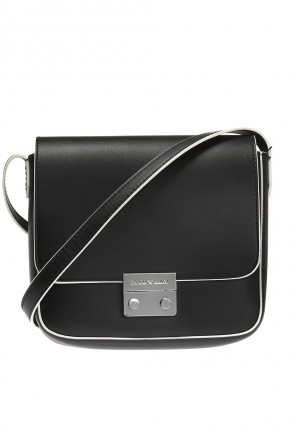 Embossed logo shoulder bag od Emporio Armani