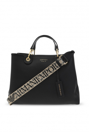 Shoulder bag with logo od Emporio Armani