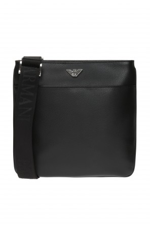 Shoulder bag with metal logo od Emporio Armani