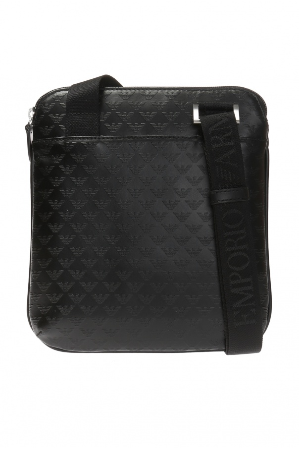 Emporio Armani Embossed logo shoulder bag