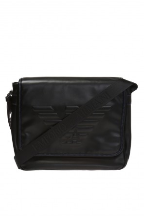 Shoulder bag with a logo od Emporio Armani