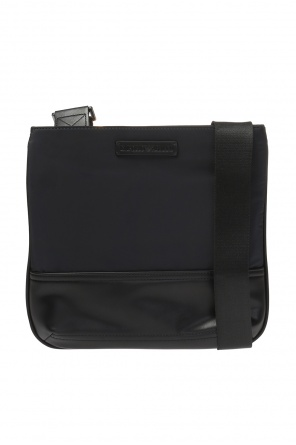 Logo-embossed shoulder bag od Emporio Armani