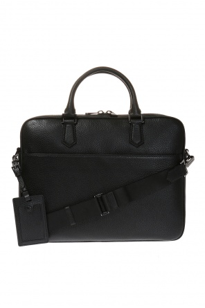 Leather briefcase od Emporio Armani