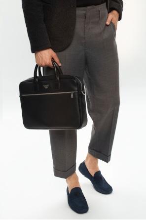 Briefcase with logo od Emporio Armani