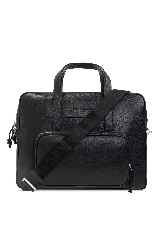 Emporio Armani Briefcase with logo