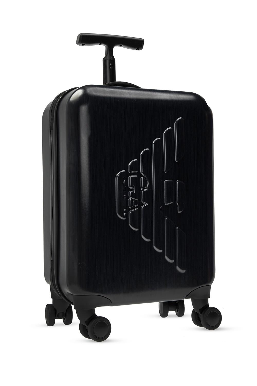 Emporio Armani Suitcase with tactile logo