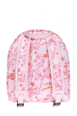 Patterned backpack od Versace Young