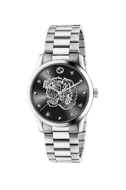 Gucci Tiger head motif watch