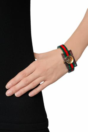 'web' stripe watch od Gucci