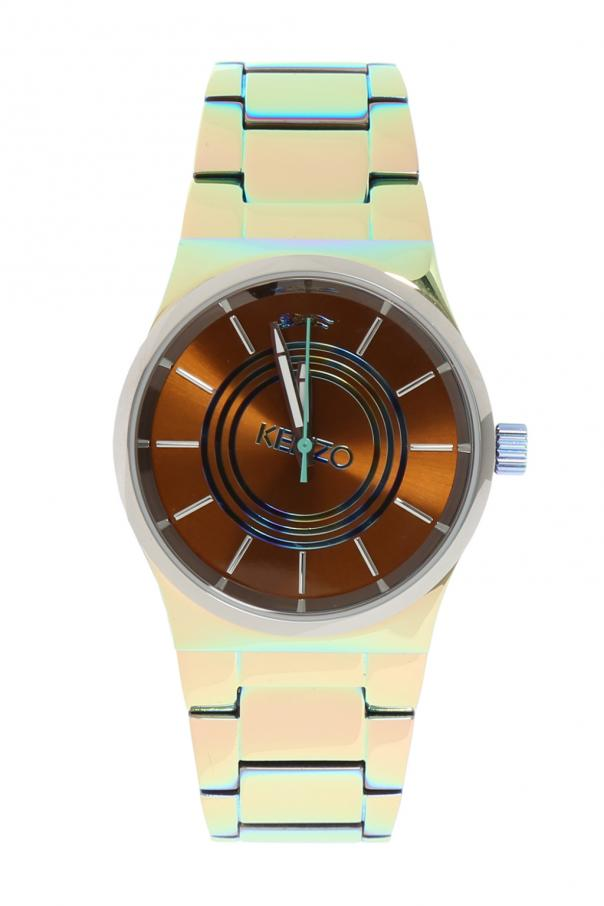 Kenzo 'Tiger Head' Watch