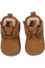 UGG Kids 'Baby Neumel' suede snow boots