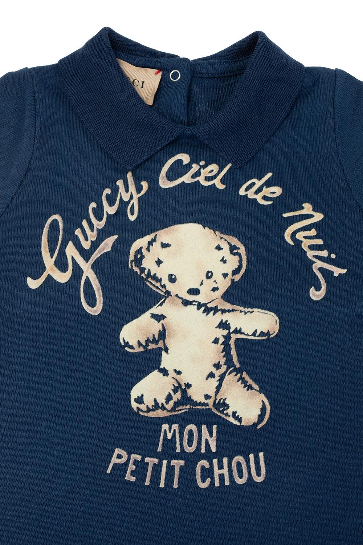 Gucci Kids logo棉质套装